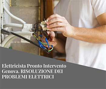 Pronto Intervento Elettricista Genova